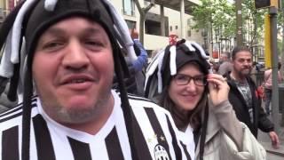 """Juve, i tifosi arrivati a Barcellona: """"Con Dybala e Higuain passiamo il turno"""""""