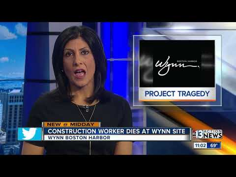 Construction worker dies at Wynn Boston Harbor
