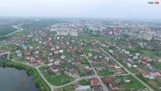 Франківськ з висоти пташиного польоту