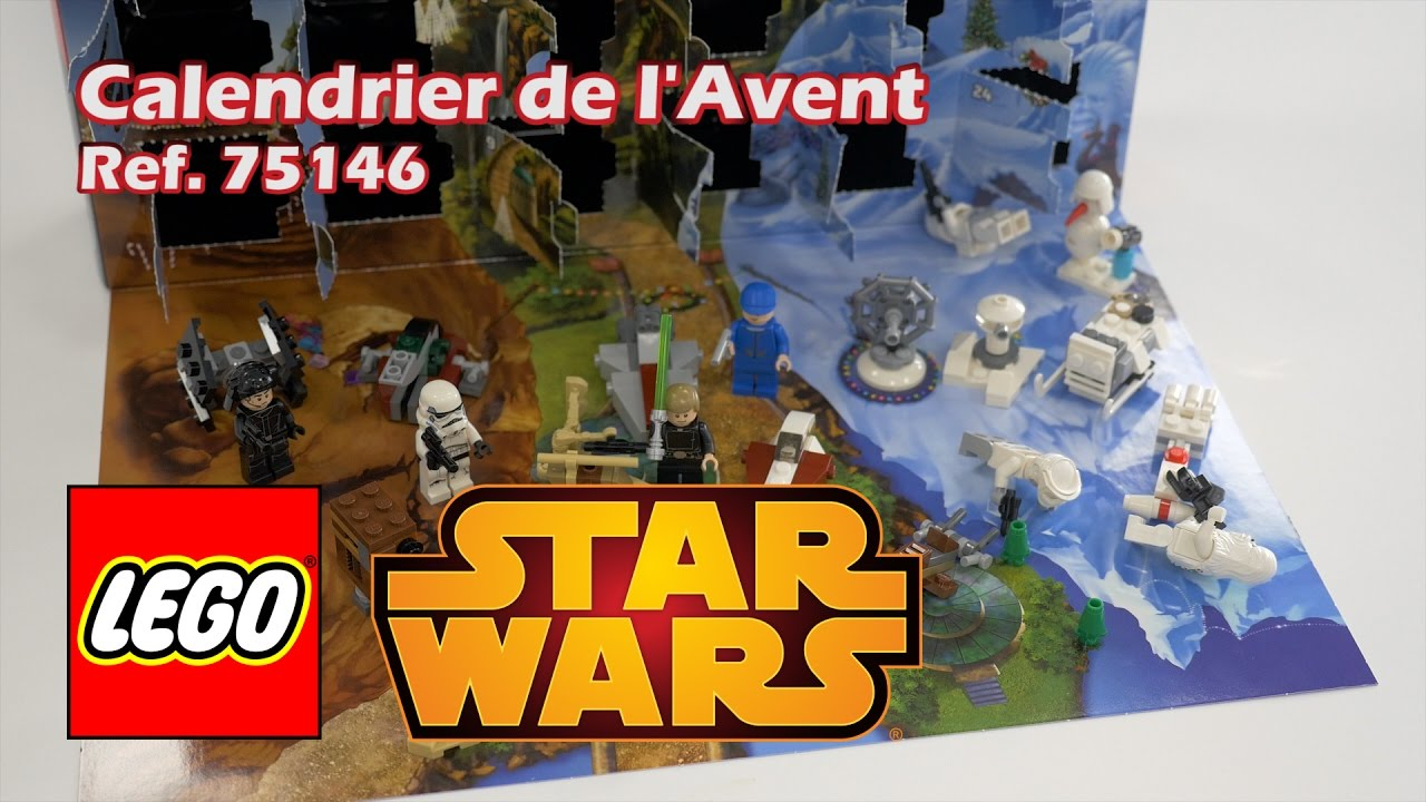 lego star wars 75146 calendrier de l 39 avent youtube. Black Bedroom Furniture Sets. Home Design Ideas