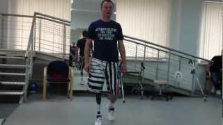 первые шаги на протезе c-leg