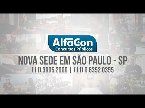 Comercial Nova Sede em São Paulo - SP - AlfaCon Concursos Públicos