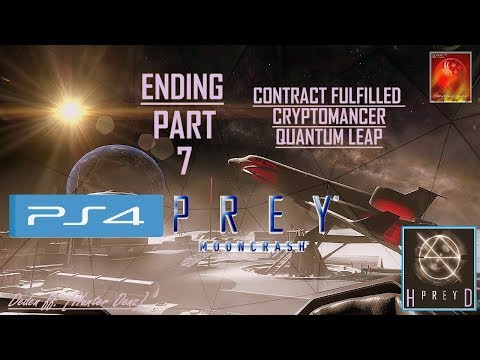 Prey: Mooncrash [PS4] Walkthrough Part 7 (Ending) | Contract Fullfilled - Cryptomancer thumbnail