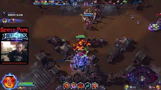 Heroes of the Storm: Quick Matching with Ragnaros and Artanis (9/4/2017)