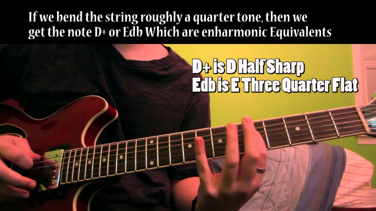 Quarter Tone Guitar : arabic scales microtonal quarter tones on a regular guitar youtube ~ Vivirlamusica.com Haus und Dekorationen