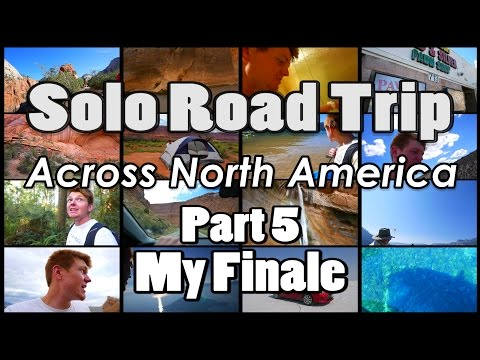 Part 5 :: Lake Tahoe, Giant Redwood Forest, Crater Lake, & Famous Salt Flats | My Finale