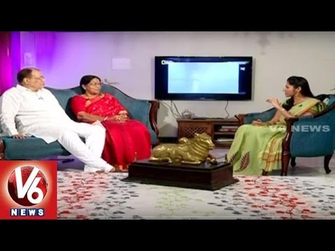 Ex DGP Pervaram Ramulu And His Wife | Special Interview | Life Mates | V6 News