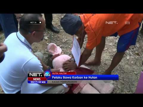 Prarekonstruksi Pembunuhan dan Kekerasan Seksual Bocah 4 tahun di Kutai -NET24 19 Juli