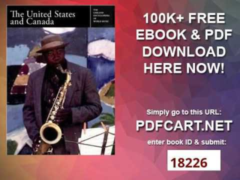 The United States and Canada Garland Encyclopedia of World Music, Volume 3