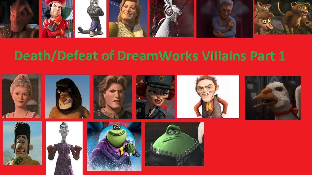 Death/Defeat of DreamWorks Villains Part 1 - YouTube