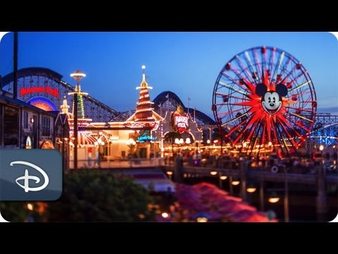 Disney California Adventure Tilt-Shift | Disneyland Resort