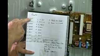 TV SAMSUNG LN40C530F1N NÃO LIGA PARTE1