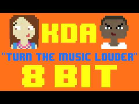 Turn The Music Louder (Rumble) (8 Bit Cover) [Tribute to KDA ft. Tinie Tempah & Katy B]
