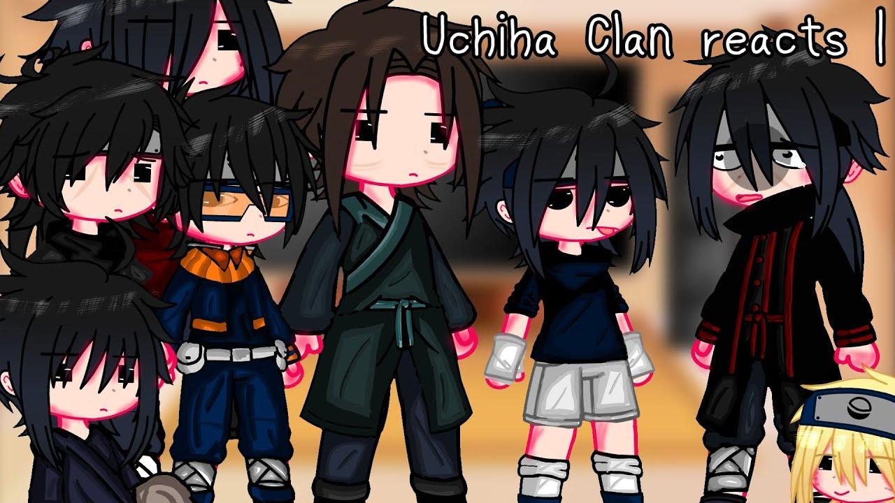 Uchiha clan reacts | Naruto | Gacha Fnaf |