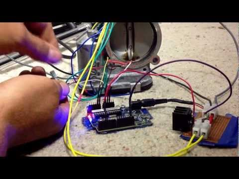 Fly by wire throttle body controlled with an Arduino Clone