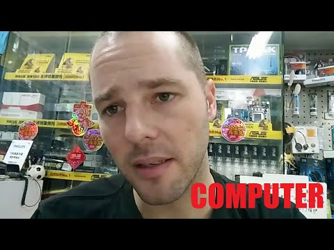 Buying a computer in China