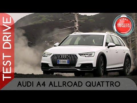 Audi A4 Allroad Quattro Test Drive   Alfonso Rizzo prova