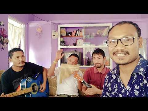 Gopramoni Chakatjok | Up From The Grave He Arose | Pan Flute, Harmonica | Garo Song | Garo Video