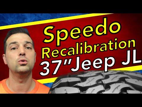 Speedometer Recalibration 🔴Jeep JL 2018 Wrangler 37