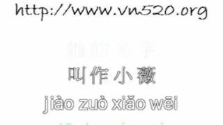 Tiểu Vi ( phiên âm ) - 小薇 ( 拼音 )