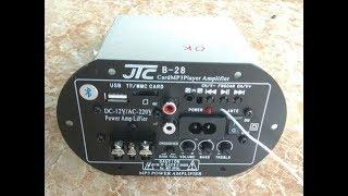 [Bán MĐ] Mạch Loa Di Động Bass 30 USB/TM/FM/Bluetooth Chạy Sò A1941/C5198