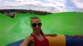 Carowinds Awesome Water Fun Park Carolina Harbor Аква Парк в Америке 2016 Agnessa Family