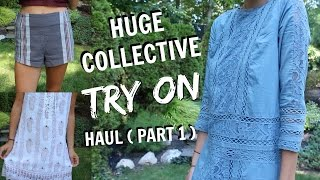 Huge Collective TRY ON Summer Haul Part 1 ( Free People, Abercrombie, Marshalls + More!)