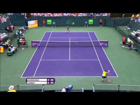 2016 Miami Open Hotshot   Agnieszka Radwanska