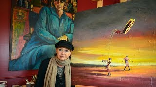 Danuta Rothschild Master Painter. MCLM Media Pro Video Production and Social Media Marketing