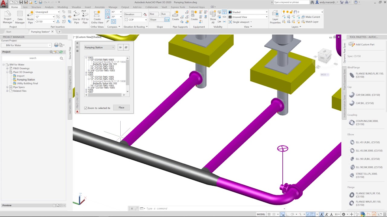 piping layout pictures piping layout using autocad plant 3d youtube  piping layout using autocad plant 3d