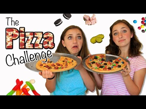 The Pizza Challenge  Brooklyn and Bailey