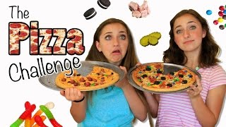 The Pizza Challenge | Brooklyn and Bailey thumbnail