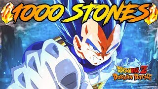 EVOLUTION VEGETA IS FINALLY LIVE!! 1,000 STONES LIVESTREAM ACCOUNT GIVEAWAY | DRAGON BALL Z DOKKAN