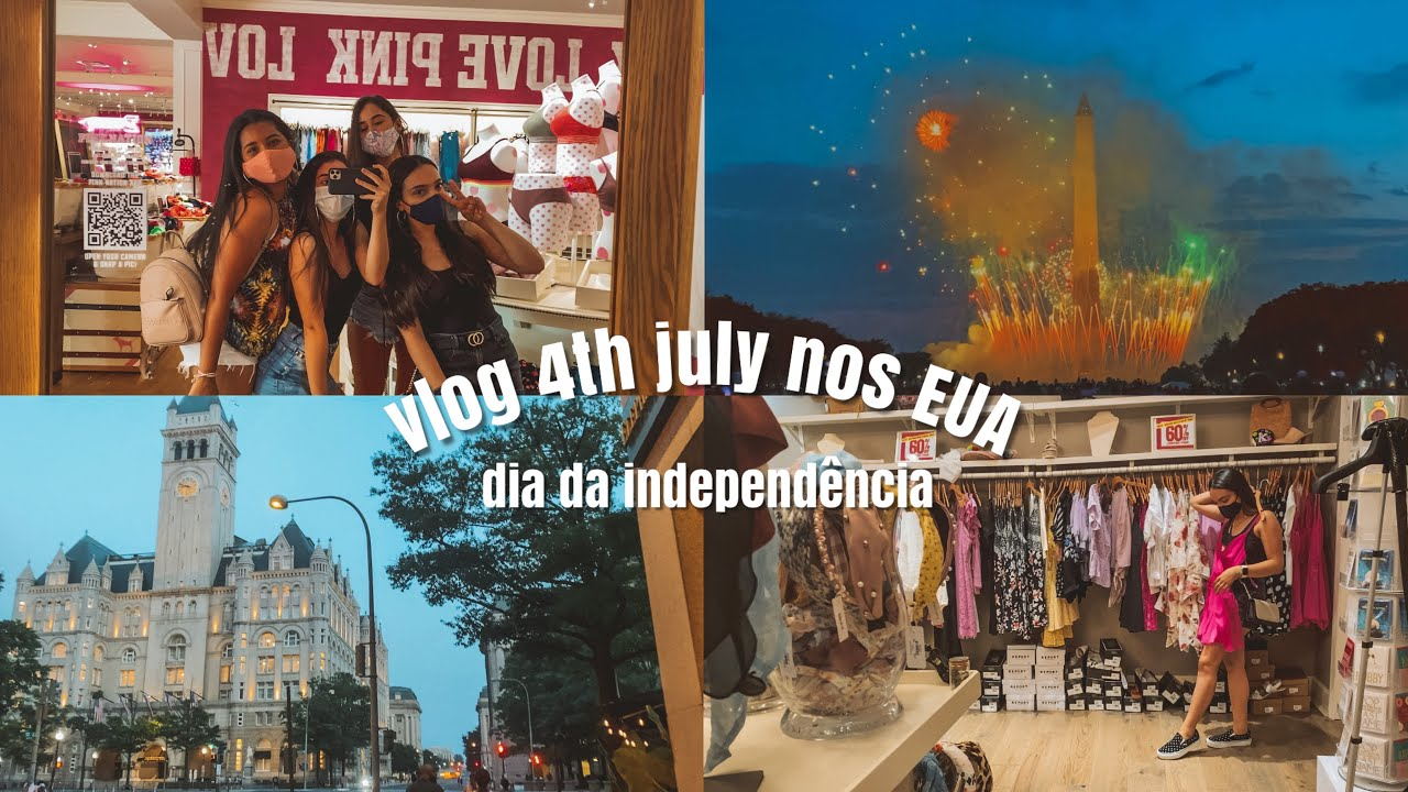 vlog feriado nos EUA *4 de julho*