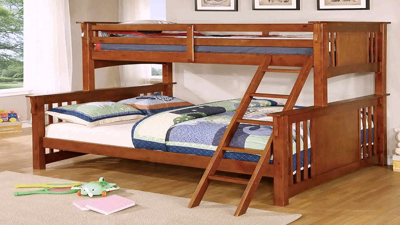 Twin Over Queen Bunk Bed Plans Free Youtube