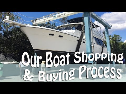 Our Great Loop Motor Yacht Boat Shopping & Buying Process