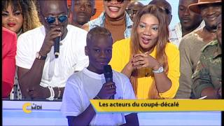C'Midi Les acteurs du Coupé décalé rendent hommage à Douk Saga 12 Octobre 2016