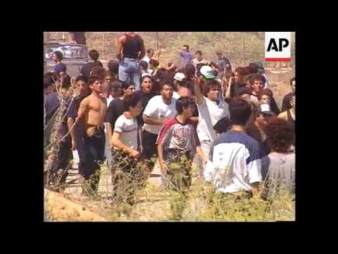 CYPRUS: DEMONSTRATOR SHOT DEAD BY TURKISH TROOPS