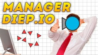 Diep.io | NEW CLASS MANAGER | EPIC MANAGER GAMEPLAY | НОВЫЙ КЛАСС MANAGER