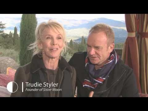 Sting, Trudie Styler and Alan York Discuss Sister Moon Wine  Food & Wine