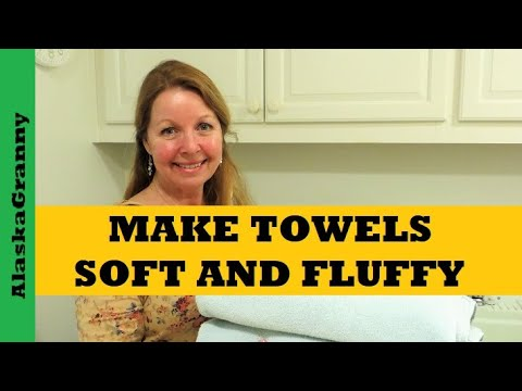 Make Towels Soft And Fluffy Again- Laundry Tips Tricks Hacks