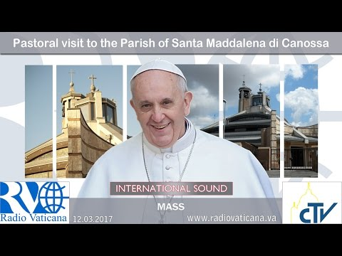 2017.03.12 Pastoral visit to the Parish of Santa Maddalena di Canossa