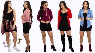 Download lagu 1 Vestido Negro 5 Outfits Casuales y Comodos 🦄 Bessy Dressy