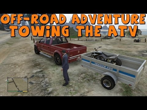 GTA 5 | Realistic Off-Road Adventure | Part 1 | Towing The ...