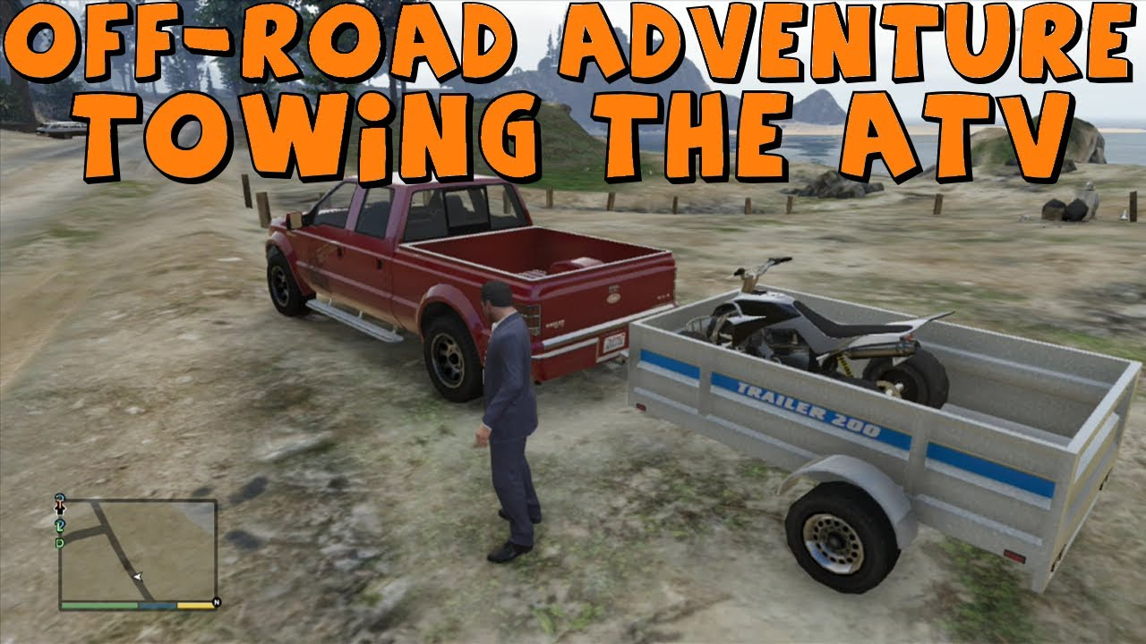 Gta 5 Realistic Off Road Adventure Part 1 Towing The