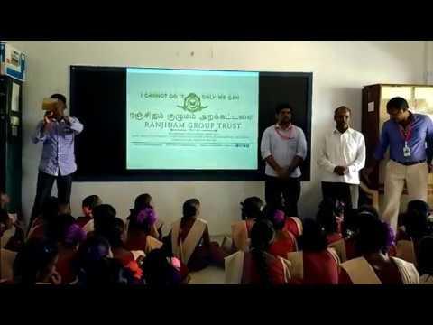 Intro. & motivational speech | Gnanam 2017 | Ranjidam Group Trust | Veerpandi village | 12-02-2017