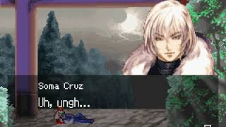 CASTLEVANIA ARIA OF SORROW HARD MODE SOMA CHAOS FINAL BOSS GOOD ENDING STAFF CREDITS