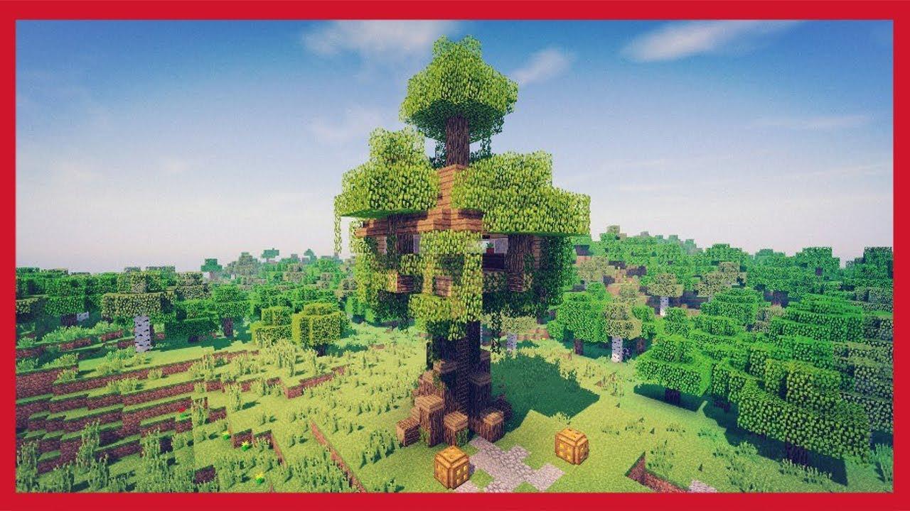 Minecraft come costruire una casa sull 39 albero youtube - Casa sull albero da costruire ...