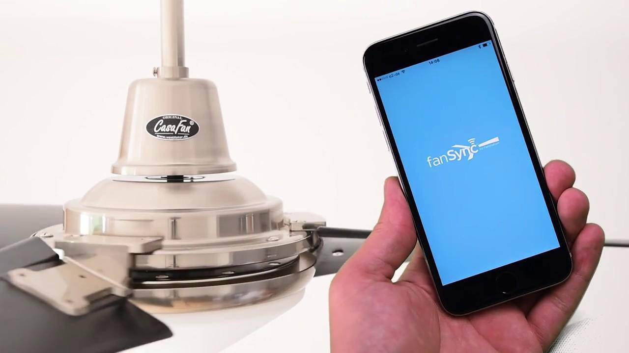 Fan Sync - Bluetoothsteuerung per Smartphone für Deckenventilatoren ...