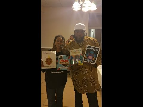 Dr. Umar Johnson in Kansas City, Kansas Feb. 15, 2015